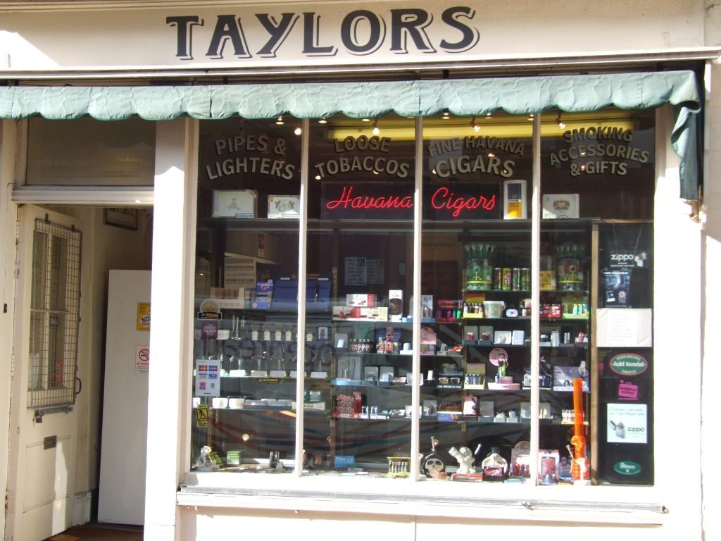 taylors shop front